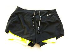 Womens Dri Fit Shorts Size Small Black Nike Running Athletic Bottoms