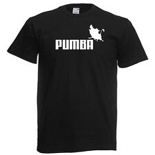 PUMBA FUNNY nerd geek tshirt t-shirt T SHIRT funny GIFT disney the lion king