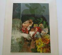 SUNOL ALVAR ABSTRACT EXPRESSIONISM LITHOGRAPH  LIMITED MODERNIST SIGNED RARE