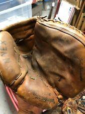 Vintage Baseball Glove McGregor Usa John Edwards Catchers Mitt Reds