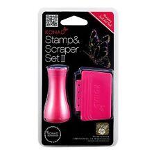 Konad Stamping Nail Art Single Stamper Scraper Set Hot Lass Fashion