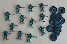 SPACE CRUSADE LOT 12 figurines GRETCHIN TBE (+ socles) GAMES WORKSHOP 1990 /SC17