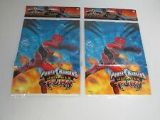 (2) POWER RANGERS JUNGLE FURY PARTY FAVOR GOODY LOOT BAGS - PARTY SUPPLIES