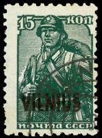 German Occupation of Lithuania - Vilnius #Mi12DD EUR1000.00 [Krischke Cert]