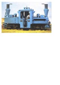 Scale Link WW1 Narrow-gauge Pechot-Bourdon 0-4-4-0 Tank locomotive kit - SRL02-S
