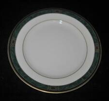 """Wedgwood China FAIRFIELD Embassy Collection, Green & Gold, Bread Plate, 6 5/8"""""""