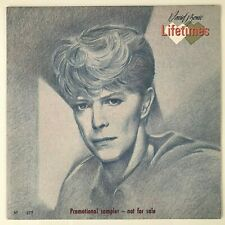 Bowie: Lifetimes - Rare Numbered (377) '83 RCA Promo Sampler (LIFETIMES1) - NM