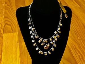 """NWT Uno de 50 Silver-plated Charmed Necklace w/ Dark Red Crystal """"Moctezuma"""""""