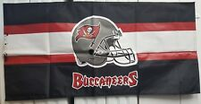 """NFL FOOTBALL TAMPA BAY BUCCANEERS 53X26"""" BANNER/TABLE COVER NEW IN PKG. LOT (10)"""