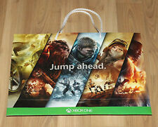 Xbox One Promo Paper Bag Gears of War 4 Battlefield 1 Recore etc  Gamescom 2016