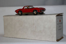 M.A.E. Scale Models, 1965 Chevrolet Corvette Coupe, Red with Box, 1/43 Scale