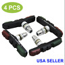 (4 Pcs) High-Quality Premium Mountain Bicycle Brake Block Bike Brake Pads 3 in 1
