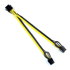 CPU 8Pin to Graphics Video Card Double PCI-E 8Pin(6Pin+2Pin)Power Cable