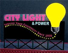 City Light & Power Animated Billboard Sign #9281 Ho/O Scale Miller Engineering