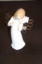 "Willow Tree ""Thinking of You"" Angel Figurine -Demdaco-Susan Lord no box Euc"