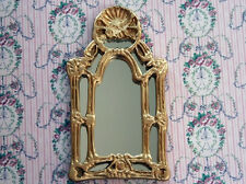 Baroque Mirror, Dolls House Miniature, Wall Decor  Wall Decor 1.12th Scale