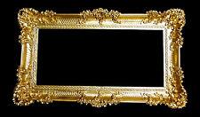xxl Bilderrahmen Groß  Barock Antik Gold 96x57 Bilderrahmen Barock Fotorahmen
