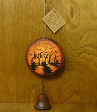 "Hanna's Handiworks #63513C Halloween Greeters Sign ""Welcome Come In For A Spell"""