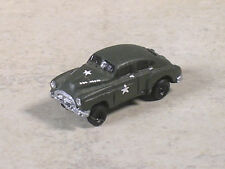 N Scale 1951 Chevy Us Army Od Green Staff Car