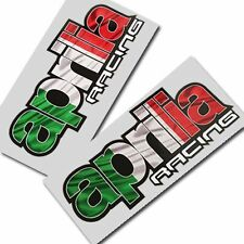 Aprilia racing Motorcycle graphics stickers decals x 2PCS Style 002