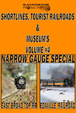STRM'S VOLUME FOUR NARROW GAUGE SPECIAL EDAVILLE & EAST BROAD TOP DVD