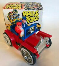 Vintage Laurel & Hardy Rolls Royce Somersault Toy Car Movie Promo w/ Box  S K
