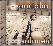 Saariaho - Salonen: Chateau de l'Ame; Graal Theatre; Amers (Sony) Like New