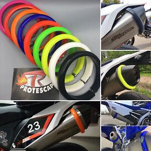 Auspuffschutz Motorrad Protektor Supermoto Schalldämpferschutz Größe Size  S