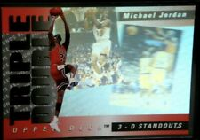 1993-94 Upper Deck Triple Double Michael Jordan 3-D Standouts #TD2 Bulls