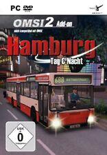 Omsi 1+2 - Omnibus Simulator - Hamburg Tag + Night PC New+Boxed