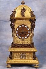 Antique French Raingo Freres Ormolu Dore Bronze Early 1800's Mantel Clock Superb