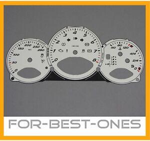 NEU original Zifferblatt Porsche Boxster 987 Tachoscheibe Tachometer Speedo 280