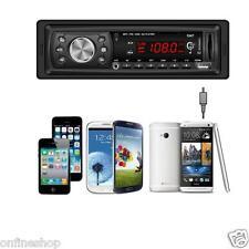 Bluetooth Head Unit In-dash 1 DIN Car Stereo Radio MP3/USB/SD/AUX/FM Player
