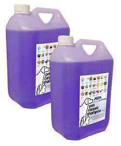 Carpet Shampoo Deodoriser Lavender 2x5L (10L Total) Neutracleanse Fresh Pet
