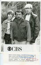 ROBERT CONRAD SHANE CONRAD CHRISTIAN CONRAD HIGH MOUNTAIN RANGERS CBS TV PHOTO