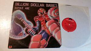 BILLION DOLLAR BABIES battle axe US ORIG 1st LP MASTERDISK RL alice cooper 1977!