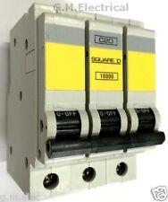 SQUARE D QOE 20 AMP TYPE C 20A TRIPLE POLE 3 PHASE BREAKER QO320EC10 MCB 10000