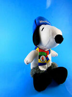 "SNOOPY dog METLIFE Winter Olympics hat scarf PEANUTS PLUSH TOY doll 6"" excellent"