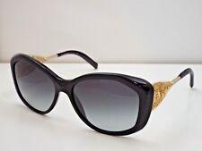 2e63df4a2491 Authentic Burberry BE 4208-Q 3001 8G Black Gold Grey Gradient Sunglasses   390