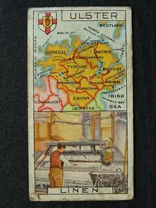 IRELAND - ULSTER Counties and Their Industries (Unnumbered) by Players 1914