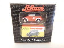 ESF-05627Schuco Piccolo VW Kübelwagen Feuerwehr, Blaulichthalterung abgelöst