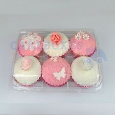 6 CUPCAKE CLEAR POD x 240 *FREE NEXT DAY DELIVERY IF ORDERED BEFORE 1PM