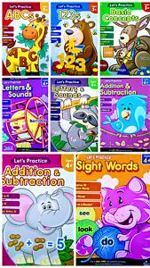 Carson Dellosa 3+ Elementary Workbooks English, Math, Spelling CHOICE of 7 NEW!