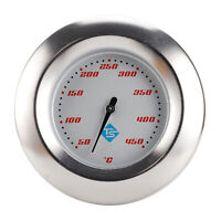 3inch BBQ Pit Grill Thermometer Temp Gauge Raucher Temperatur Thermostat