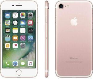 Apple iPhone 7 A1660 GSM/CDMA Smartphone Rose Gold / 128 GB /Unlocked
