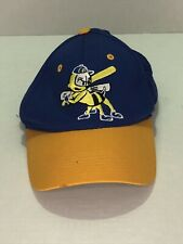 Vintage Burlington Bees Minor League Baseball Snapback Hat / Cap. Lightly Used