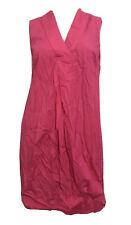 Mini Vestido H&M Rosa 100% Algodón Informal Fiesta Shift UK 8 EU 34 nos 4 XS BNWT
