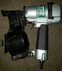 "Metabo HPT NV45AB2 1-3/4"" 15-Degree Coil Roofing Pneumatic Nailer Brand NEW"