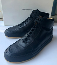 COMMON PROJECTS B-Ball MIDS Leather Hitop Basketball Sneakers Black EU 40 US 7-8