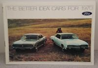 Ford Better Idea for Cars 1970 Stockholder's Brochure Mustang Falcon Cougar etc